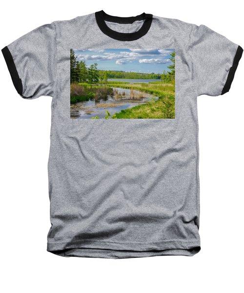 Lake Itasca Beauty Baseball T-Shirt