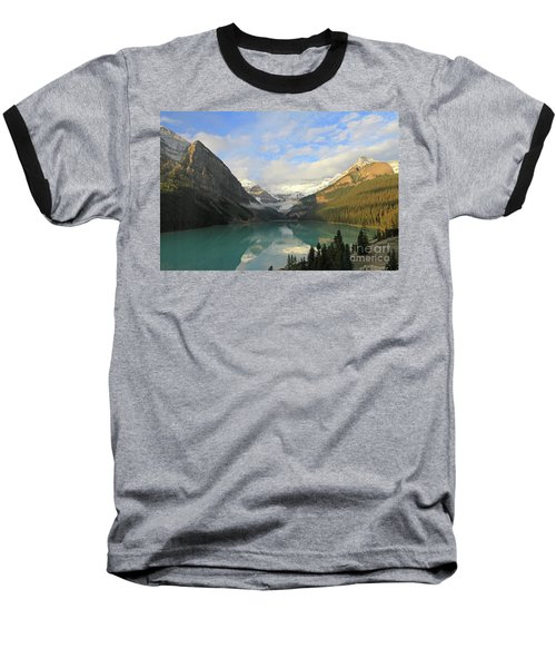 Lake Louise At Dawn Baseball T-Shirt