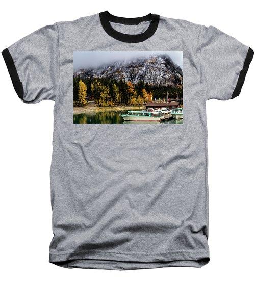 Lake Minnewanka, Banff National Park, Alberta, Canada Baseball T-Shirt