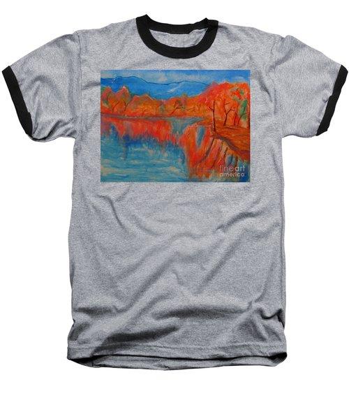 Lake Mirror Baseball T-Shirt