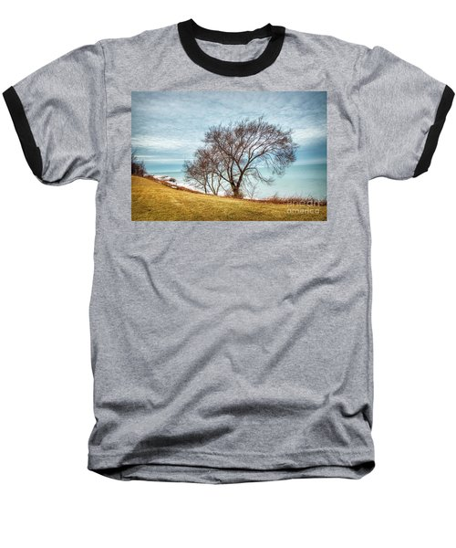 Lakeshore Lonely Tree Baseball T-Shirt