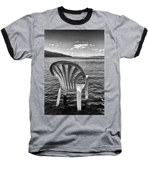 Lakeside Waiting Room Baseball T-Shirt