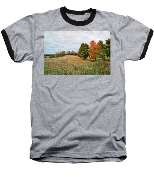 Landscape In The Fall Baseball T-Shirt