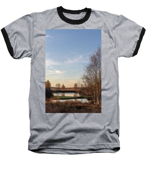 Baseball T-Shirt featuring the photograph Landscape Scenery by Anjo Ten Kate