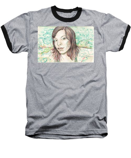 Laser Baseball T-Shirt