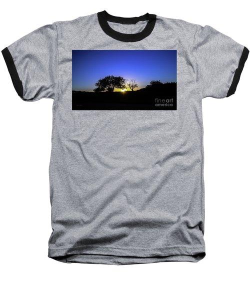 Last Light Texas Hill Country Paradise Canyon Sunset 8053a Baseball T-Shirt