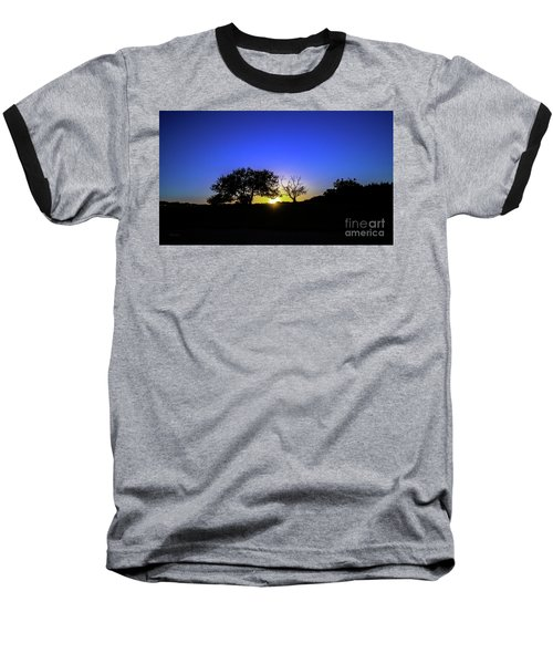 Last Light Texas Hill Country Paradise Canyon Sunset 8053a1 Baseball T-Shirt