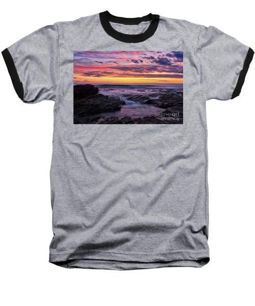 Last Sunset Of 2018 Baseball T-Shirt