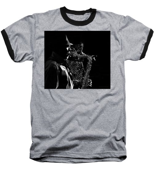 Late Night Noir Baseball T-Shirt