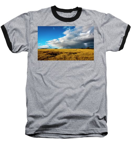 Late Summer Storm With Tornado Baseball T-Shirt