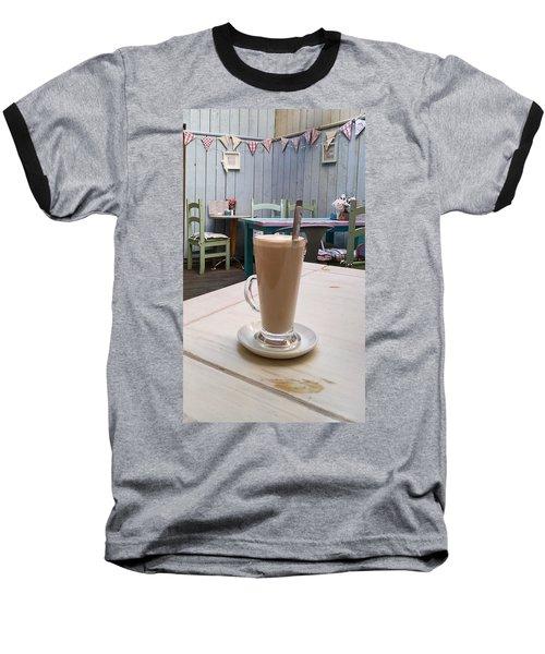 Latte Time Baseball T-Shirt
