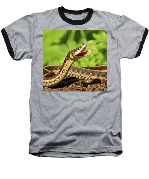 Laughing Snake Baseball T-Shirt