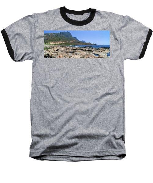 Lava Rocks Of Balos Baseball T-Shirt