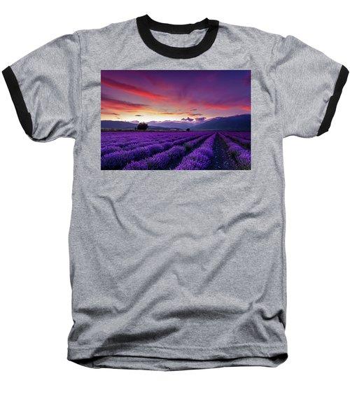 Lavender Season Baseball T-Shirt