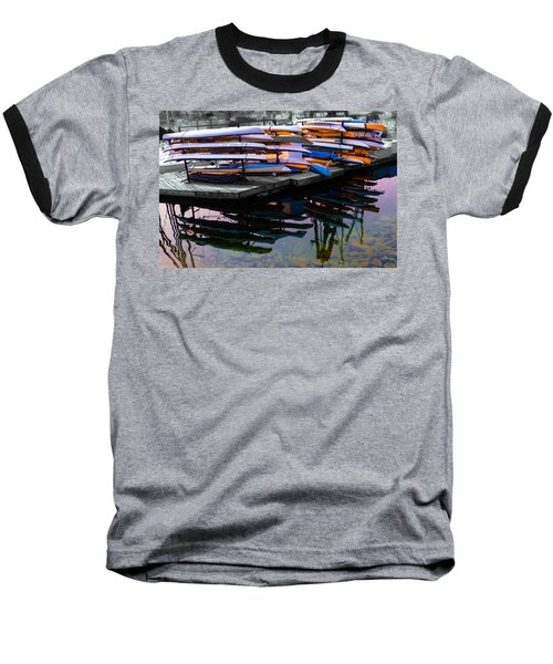 Layers And Layers By The Water Baseball T-Shirt