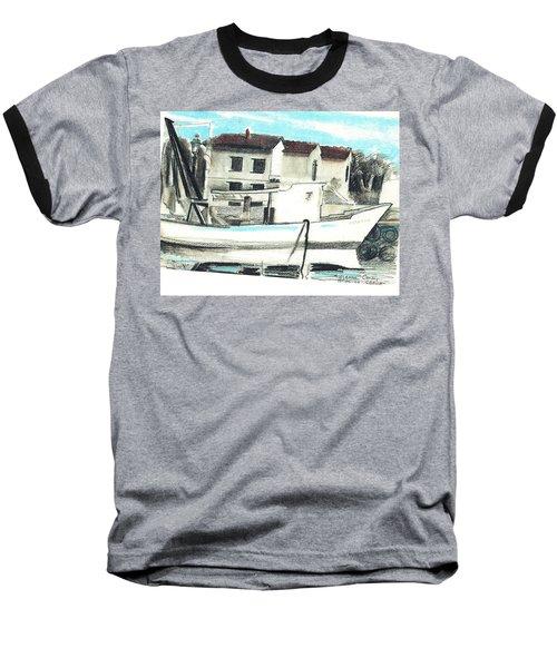Le Barche Galleggianti Nel Mare Adriatico  Baseball T-Shirt