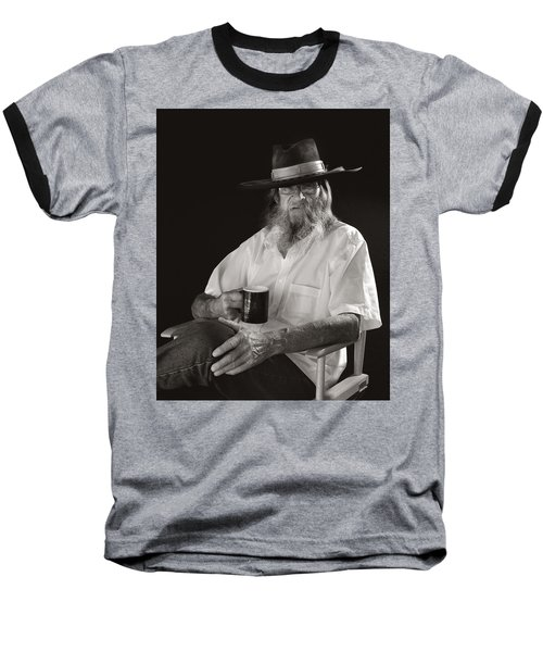 Baseball T-Shirt featuring the photograph Le Poete by Ron Cline