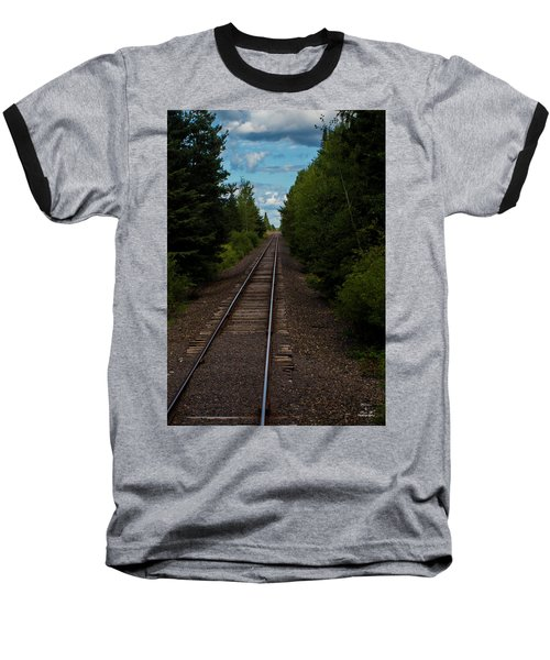 Leading Lines Baseball T-Shirt