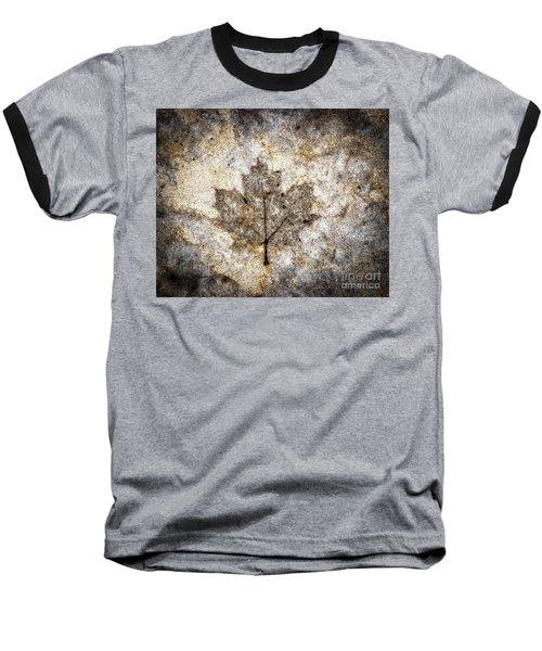 Leaf Imprint Baseball T-Shirt