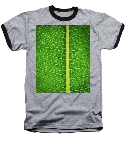 Leafy Detail Baseball T-Shirt