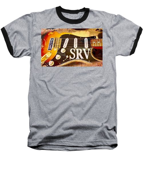 Lenny Stevie Ray Vaughans Guitar Baseball T-Shirt