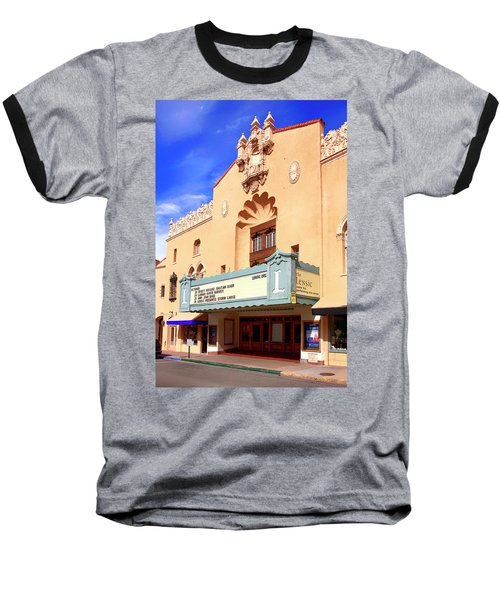 Lensic Performing Arts Center Baseball T-Shirt