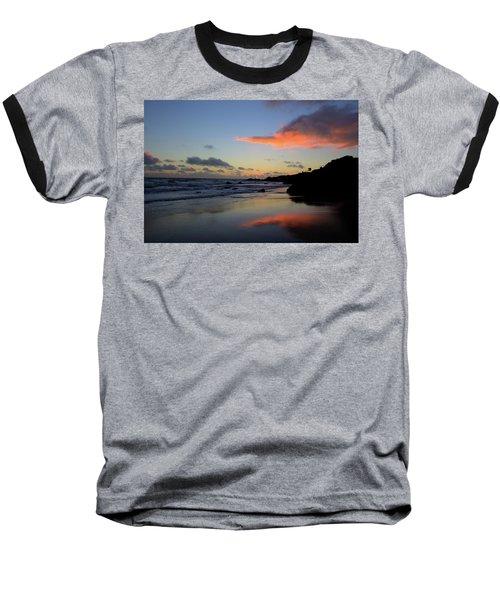Leo Carrillo Sunset II Baseball T-Shirt