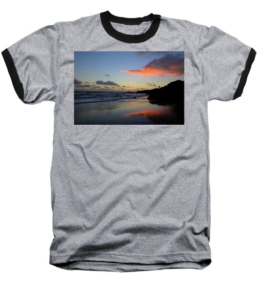 Leo Carrillo Sunset II Baseball T-Shirt
