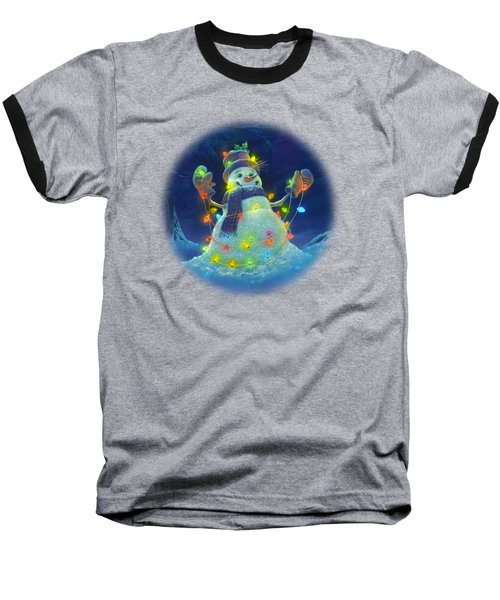 Let It Glow Baseball T-Shirt