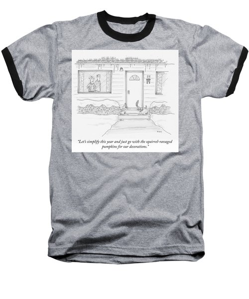 Lets Simplify This Year Baseball T-Shirt