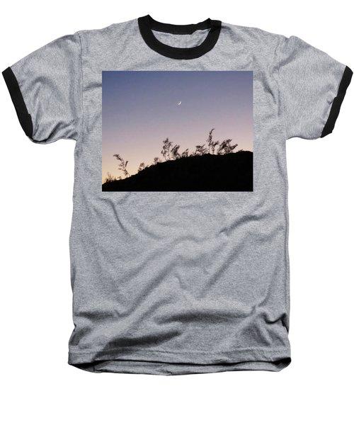 Libra Twilight Crescent Baseball T-Shirt