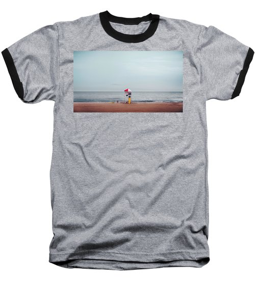 Lifeguard Stand Baseball T-Shirt