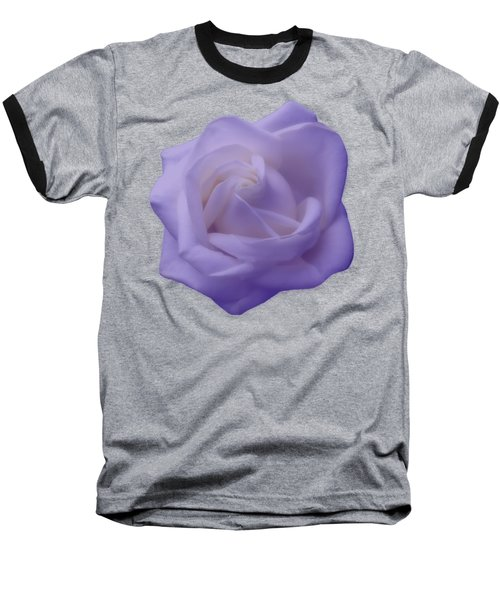 Light Purple Rose Baseball T-Shirt