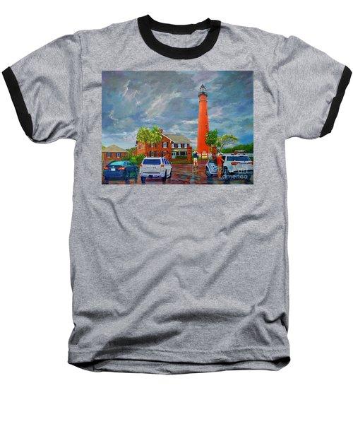 Lightning And The Light Baseball T-Shirt