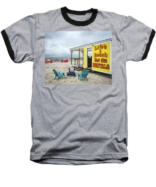 Like's A Beach Baseball T-Shirt