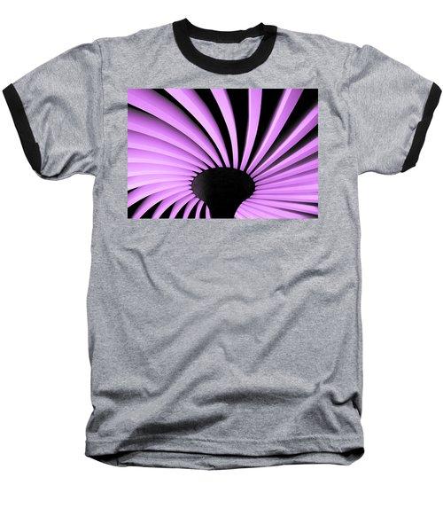 Lilac Fan Ceiling Baseball T-Shirt