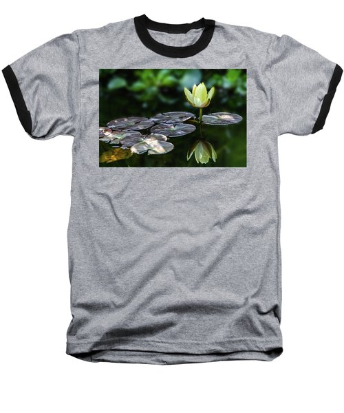 Lily In The Pond Baseball T-Shirt