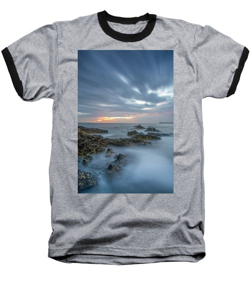 Baseball T-Shirt featuring the photograph Lines - Matosinhos 2 by Bruno Rosa