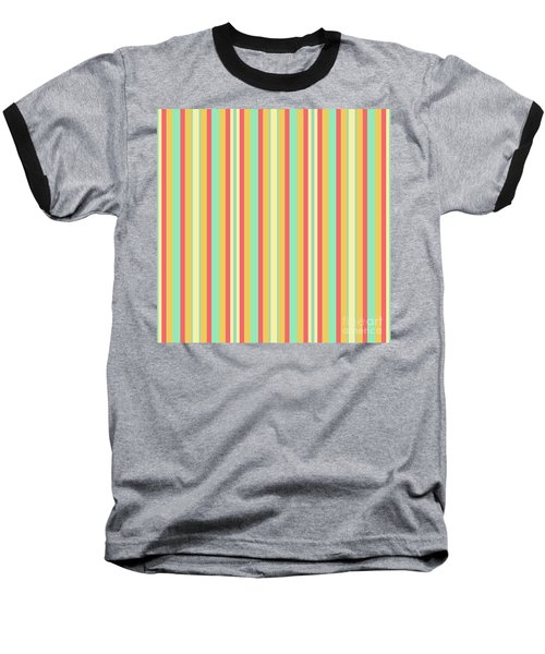 Lines Or Stripes Vintage Or Retro Color Background - Dde589 Baseball T-Shirt