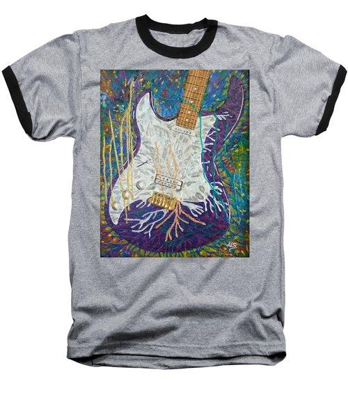 Liquid Metal Baseball T-Shirt