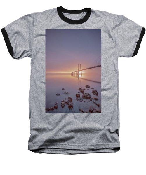 Baseball T-Shirt featuring the photograph Lisbon.. Finally 2 by Bruno Rosa