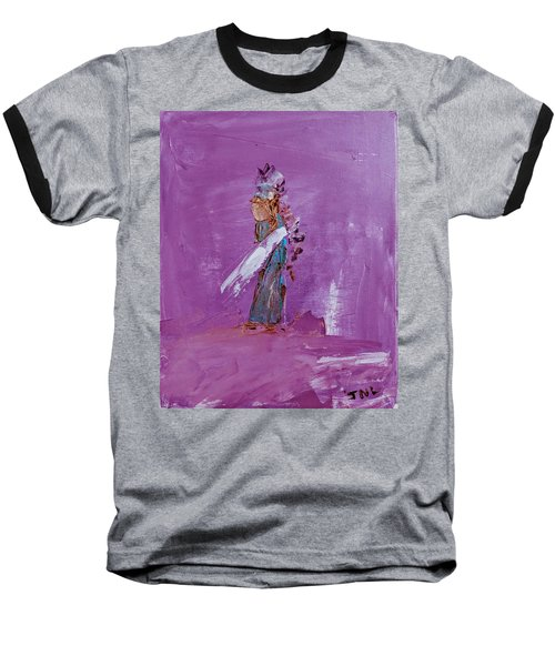 Little Indian Angel Baseball T-Shirt