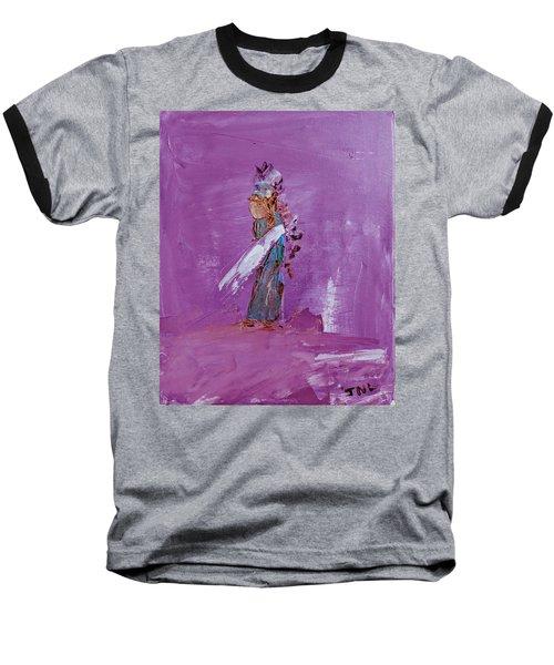Little Indian Angel Baseball T-Shirt