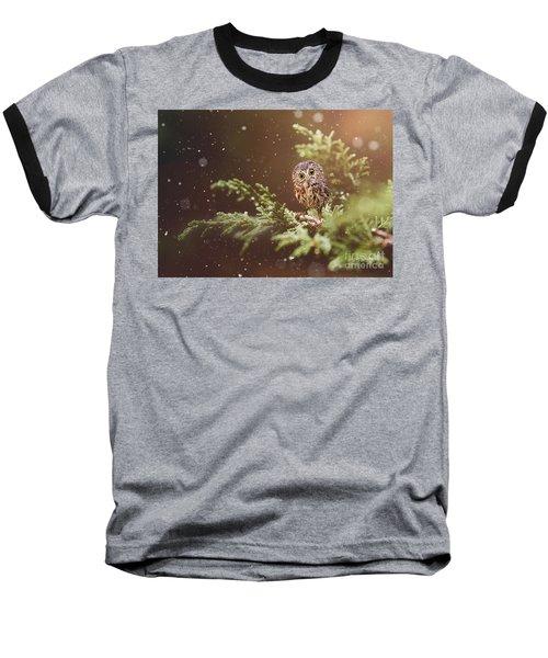 Little Owl Baseball T-Shirt