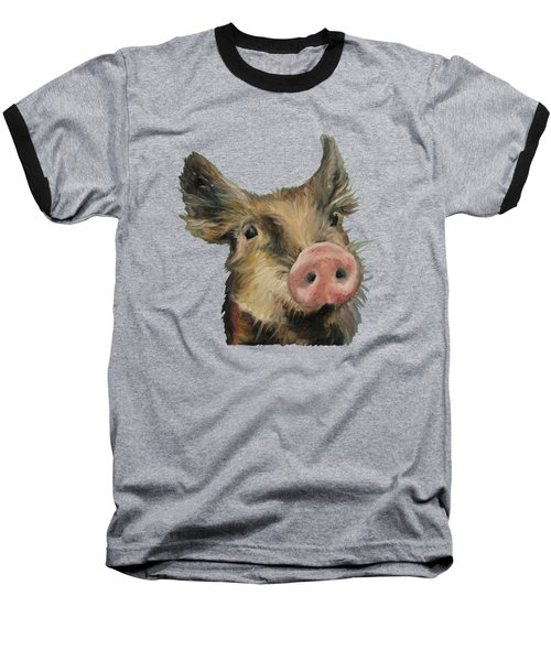 Little Piglet Baseball T-Shirt