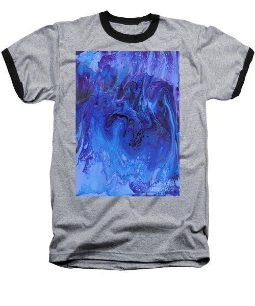 Living Water Abstract Baseball T-Shirt