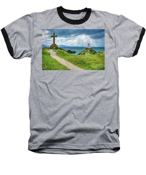 Llanddwyn Island Baseball T-Shirt