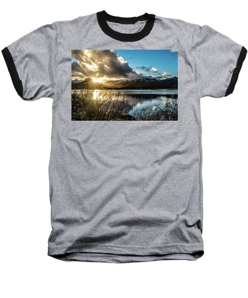 Lofoten Sunset Baseball T-Shirt