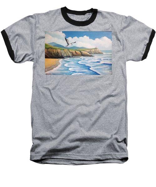 L'oiseau Solitaire Baseball T-Shirt