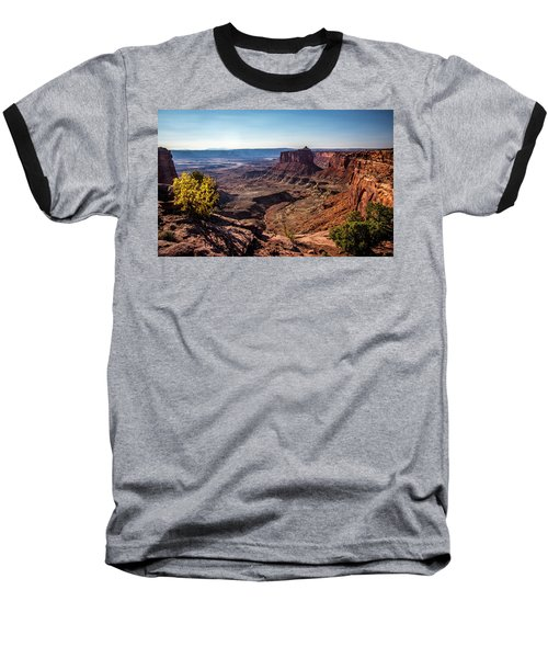 Baseball T-Shirt featuring the photograph Lonely Butte by David Morefield